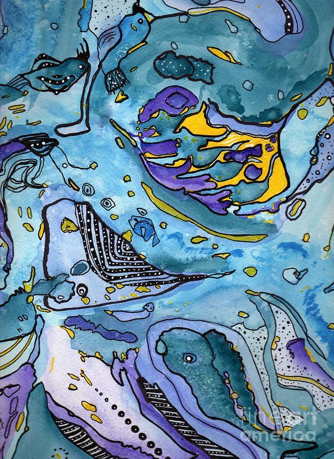 Sunlit Portal Painting by Deborah Leigh