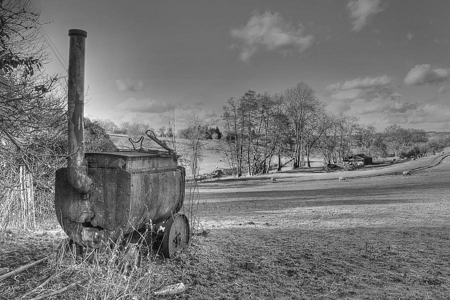 Tar Photograph -  Tar Boiler by Dave Godden