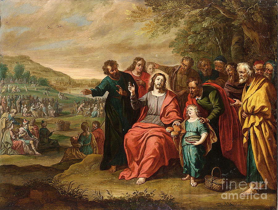 Famous Paintings Of The Feeding Of