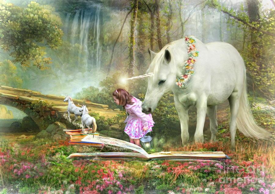 The Unicorn Book Of Magic Digital Art