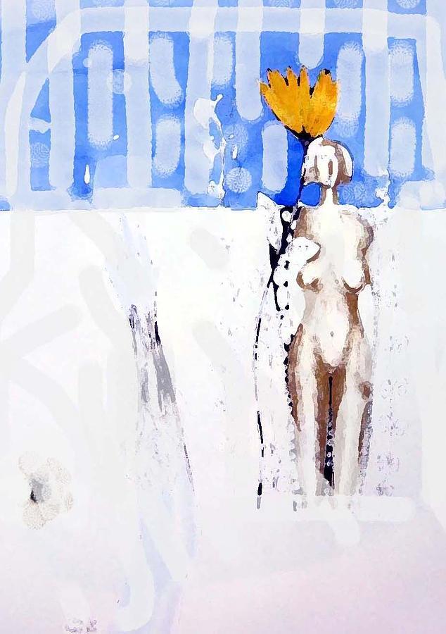 Woman Digital Art -  The Unreachable Woman by Adnan Meatek