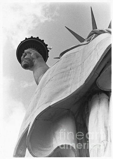 Ny Photograph -  Torch Of Liberty    by Marty Kowerski