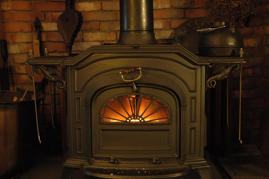 Fireplace Photograph -  Warm And Friendly by Ross Powell