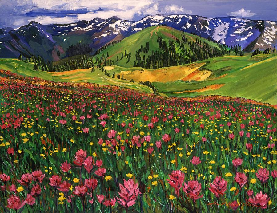 Wildflowers Painting