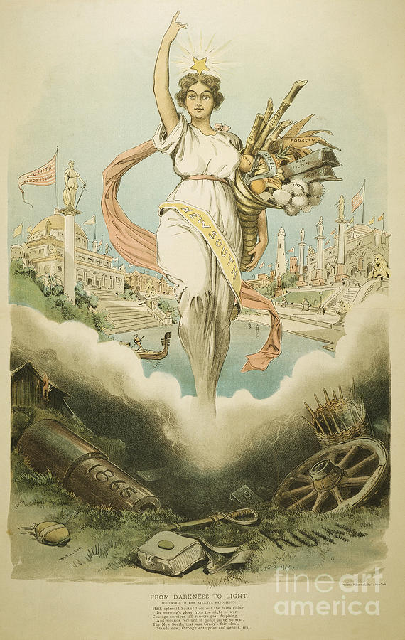 1895 Painting - Atlanta Exposition, 1895 by Granger