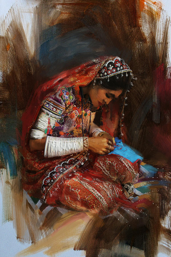 001 Sindh Painting By Mahnoor Shah