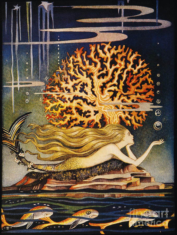 1932 Painting - Andersen: Little Mermaid by Granger