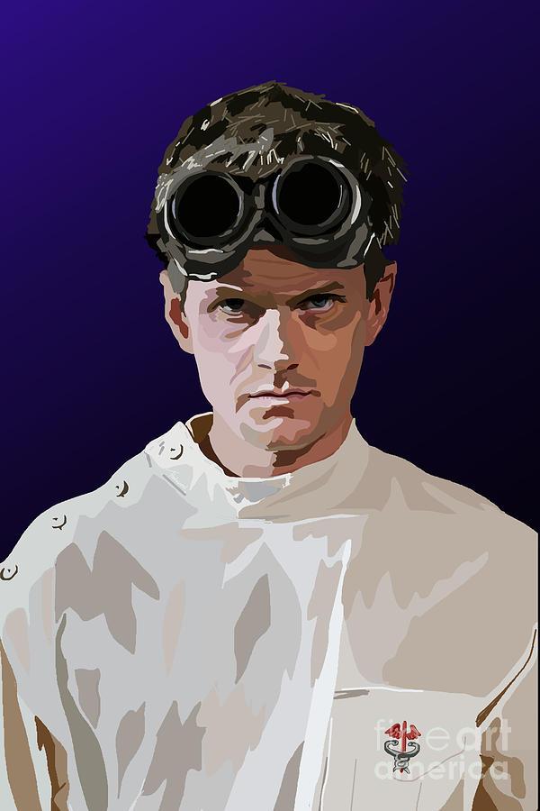 Dr Horrible Digital Art - 005. Horribly Familiar by Tam Hazlewood
