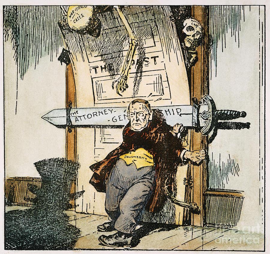 1924 Painting - Skeletons Of Malfeasance by Granger