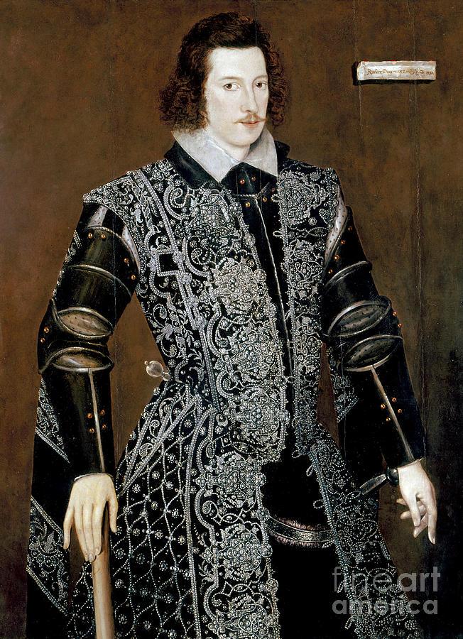 1590 Painting - Sir Robert Devereux by Granger