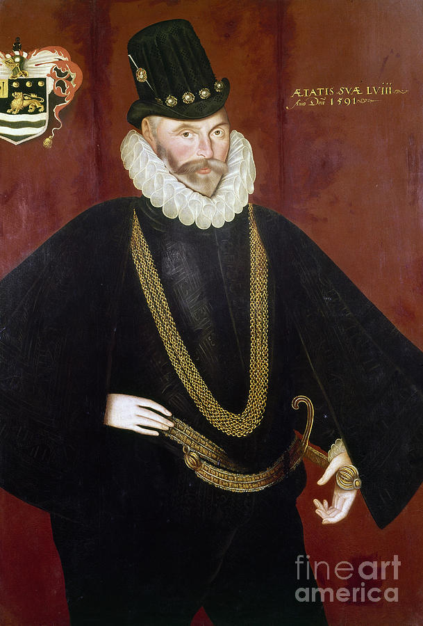 1591 Painting - Sir John Hawkins by Granger