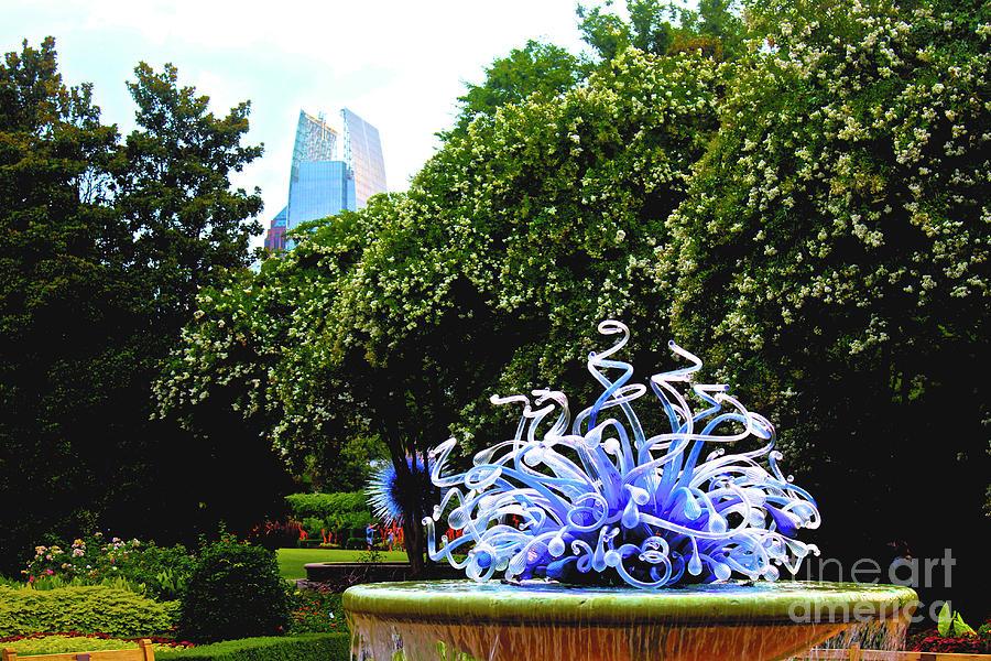 Atlanta Botanical Gardens Photograph - 01142017059 by Debbie L Foreman