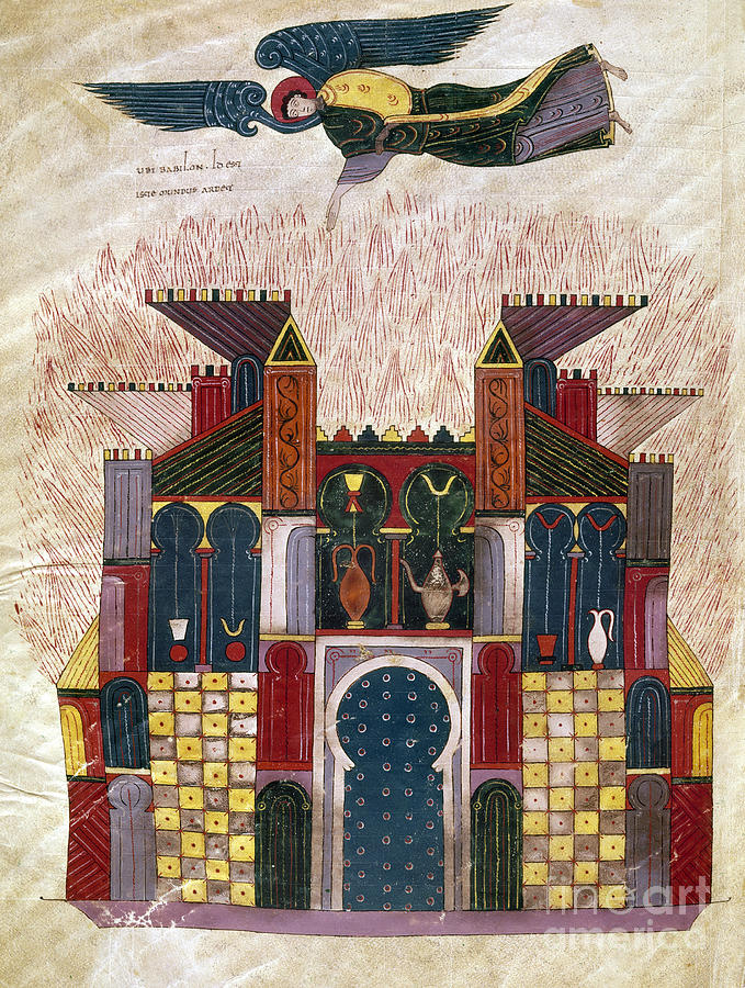 1047 Painting - Facundus Beatus, 1047 by Granger