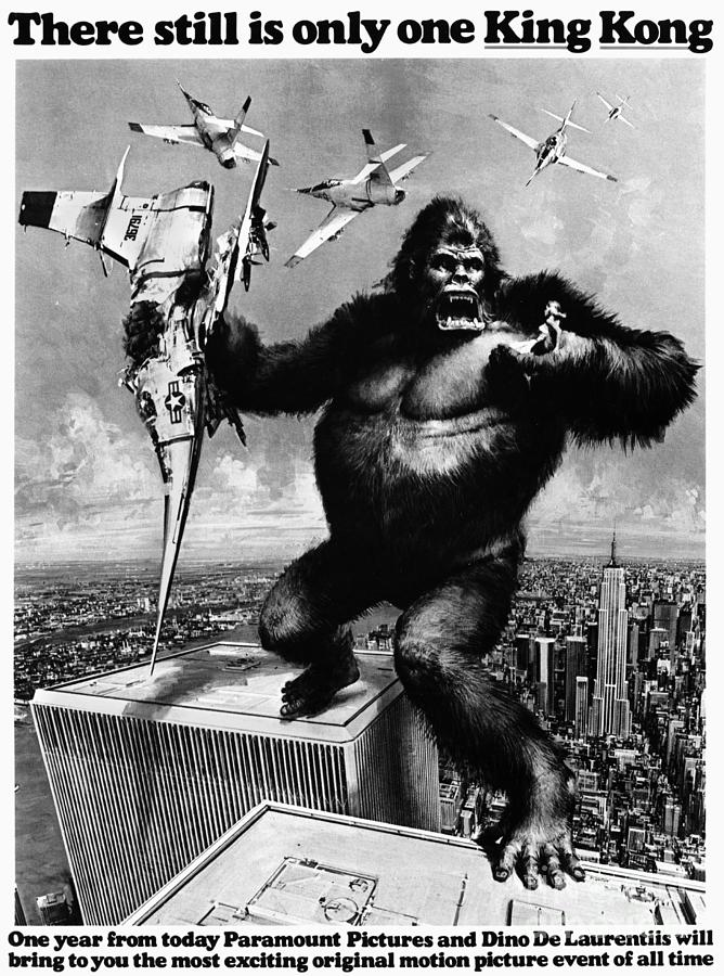 1975 Painting - King Kong, 1976 by Granger