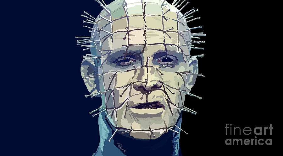 Hellraiser Painting - 017. Such Fertile Ground For The Seeds Of Torment by Tam Hazlewood