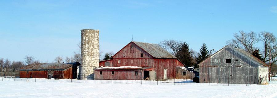 Farm Photograph - 020309-70 by Mike Davis