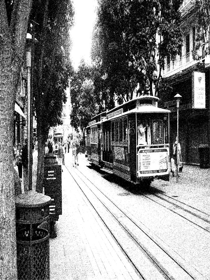 021016 San Francisco Trolly by Garland Oldham