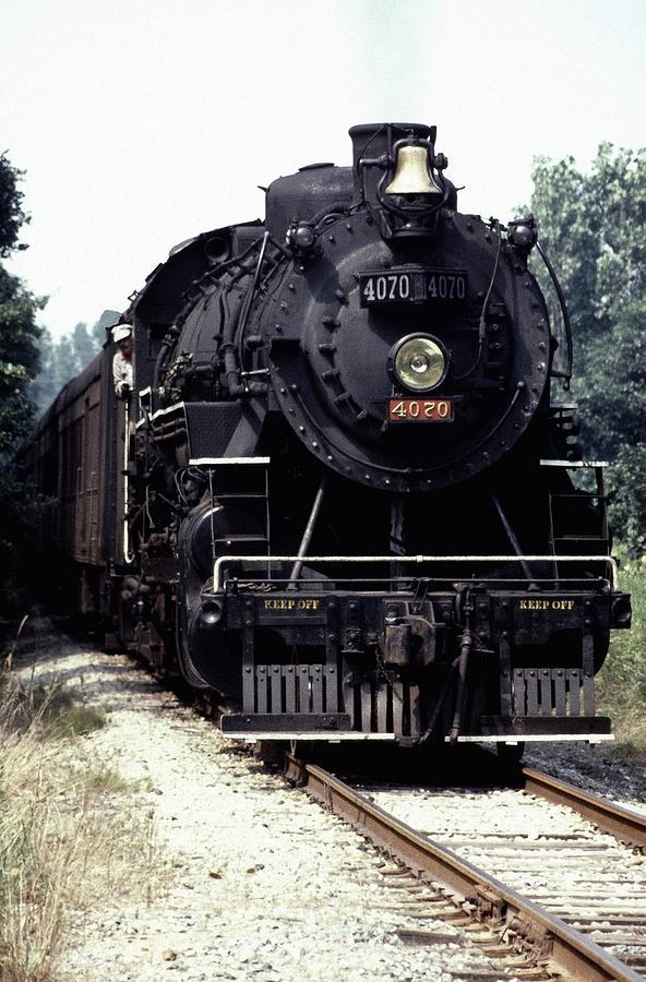 Train Photograph - 030907-54 by Mike Davis