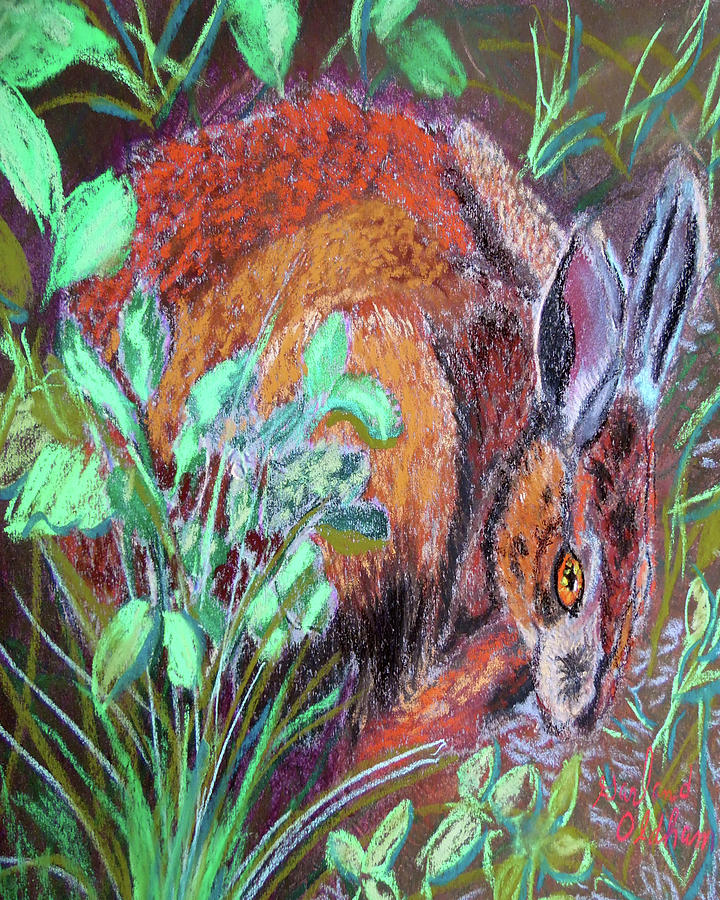 032917Louisiana Swamp Rabbit by Garland Oldham