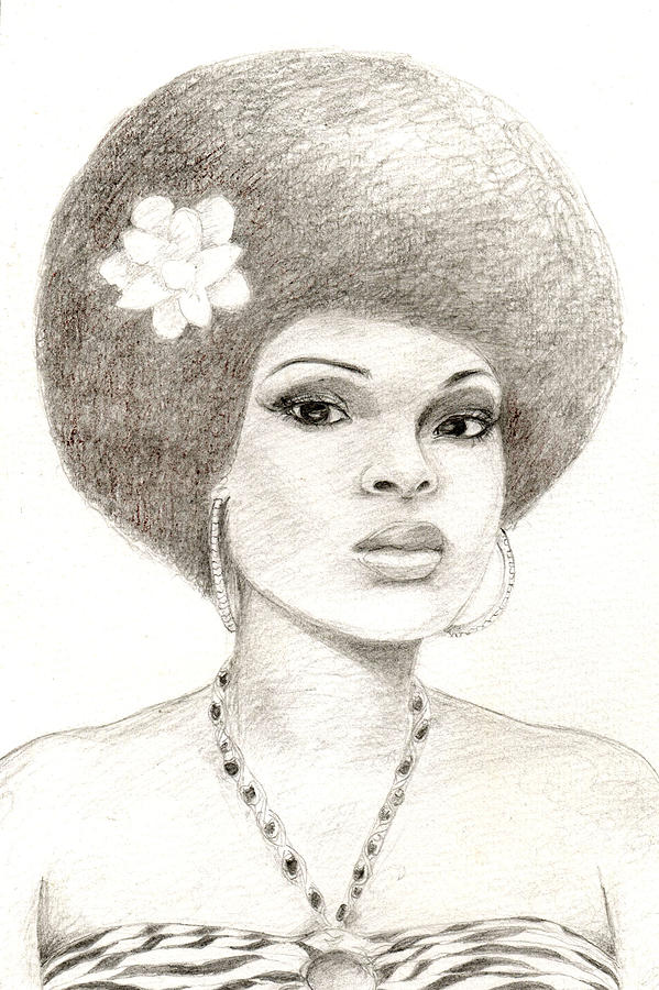 Illustration Drawing - 052 by Candace Williams