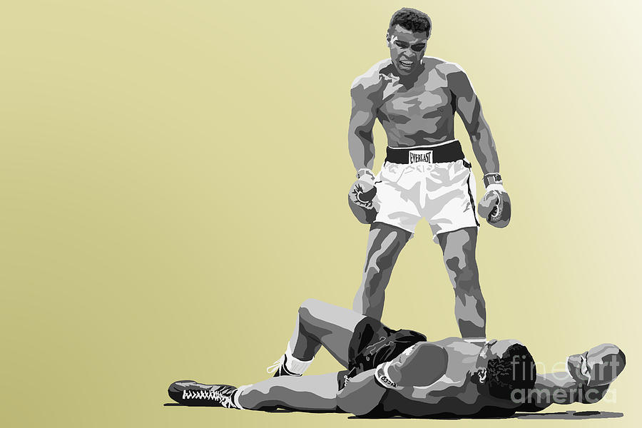 Tv Show Painting - 059. Float Like A Butterfly by Tam Hazlewood