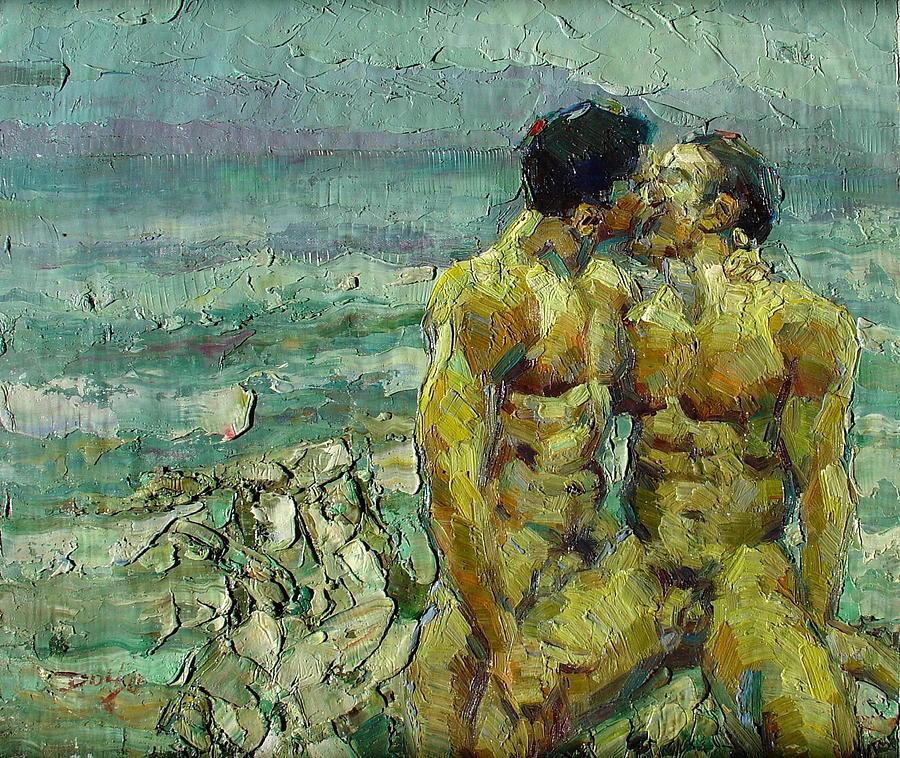 Gay art paintings