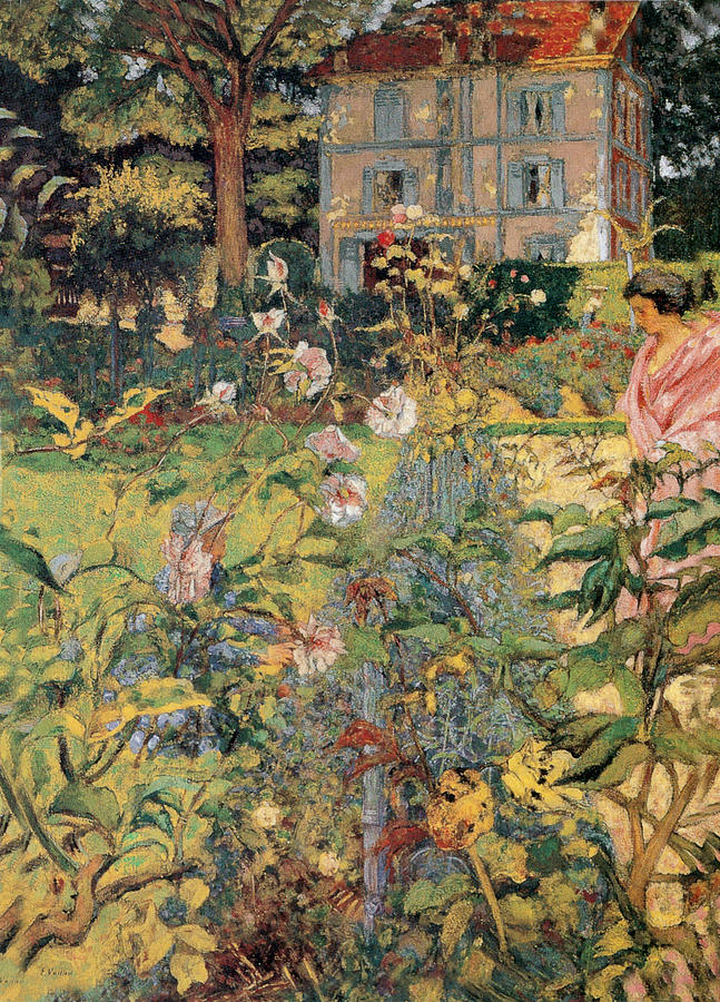 Morning In The Garden At Vaucresson Painting By Edouard
