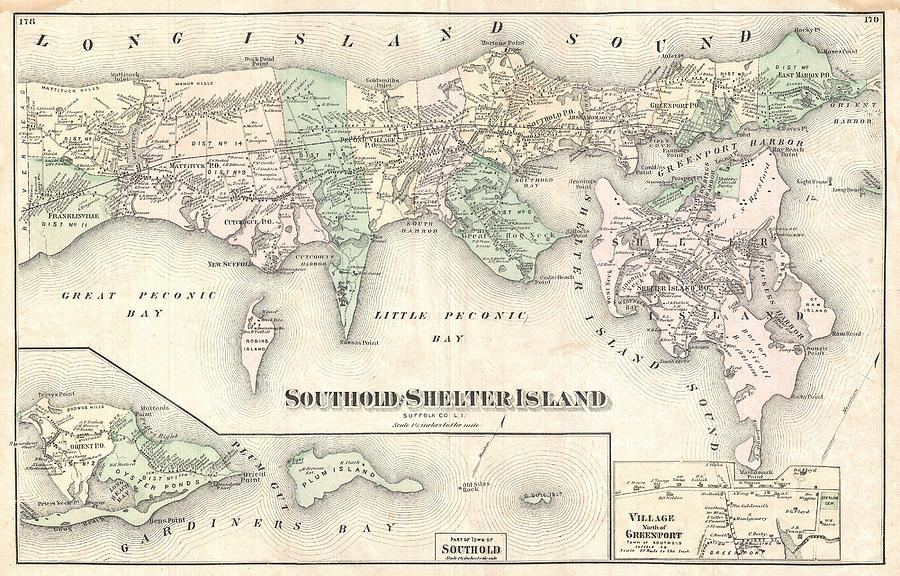 1873 Beers Map Of Southold Shelter Island Long Island New York by Paul on rhode island waterways map, lincoln island map, st bonaventure map, whitestone map, blue point map, suffolk county map, fire island map, farmingdale map, east hampton map, asharoken map, brookhaven map, great river map, admiralty island map, sag harbor map, gardiners island map, islandia map, mission gorge map, longview lake shelter map, plum island new york map, rhode island sound map,