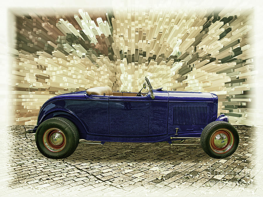 1932 Ford Hot Rod Roadster Photograph by Nick Gray