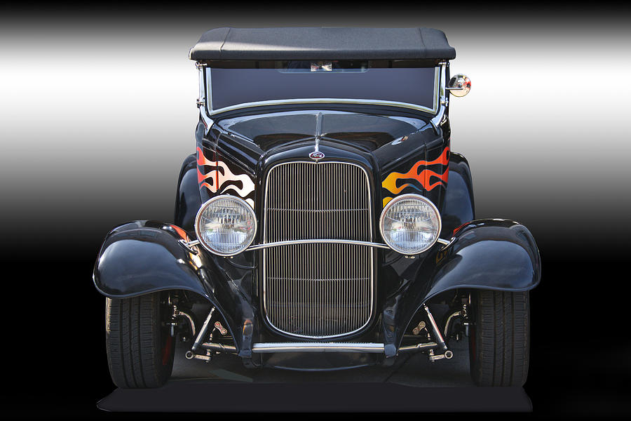 1932 Ford \'traditional\' Hot Rod Roadster Photograph by Dave Koontz