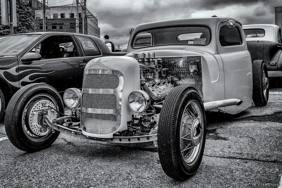 1948 Photograph - 1948 Mercury Pickup Hot Rod by Ken Morris