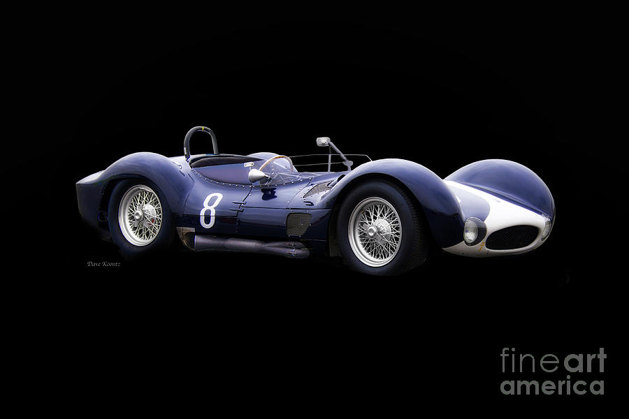 Auto Photograph - 1960 Maserati T61 Racecar by Dave Koontz