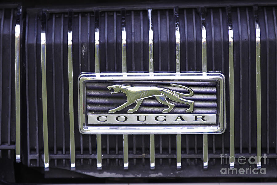 1968 Cougar by Richard Lynch