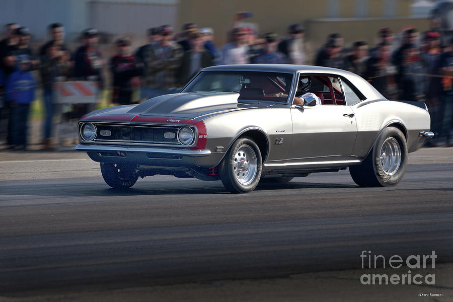 Automobile Photograph - 1969 Camaro Ss396 by Dave Koontz