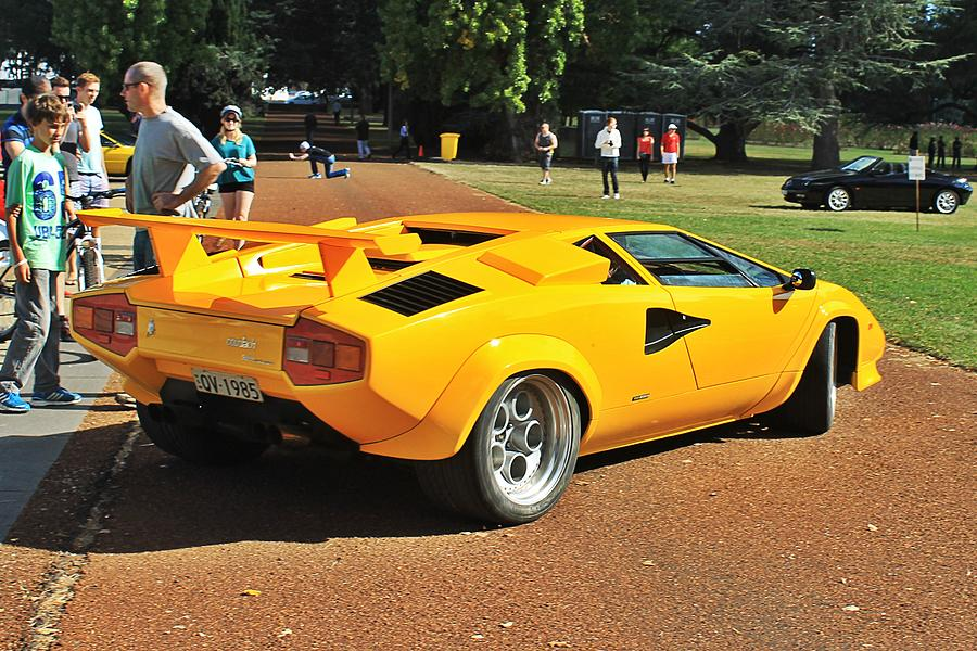 1985 Lamborghini Countach 5000 Qv Photograph By Anthony Croke