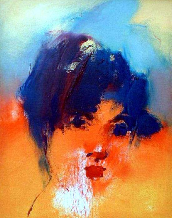 19.untitled Painting by Shefqet Avdush Emini