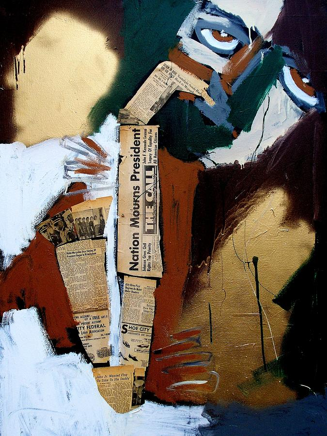 Jazz Painting - A Blues For Camelot by Harold Smith