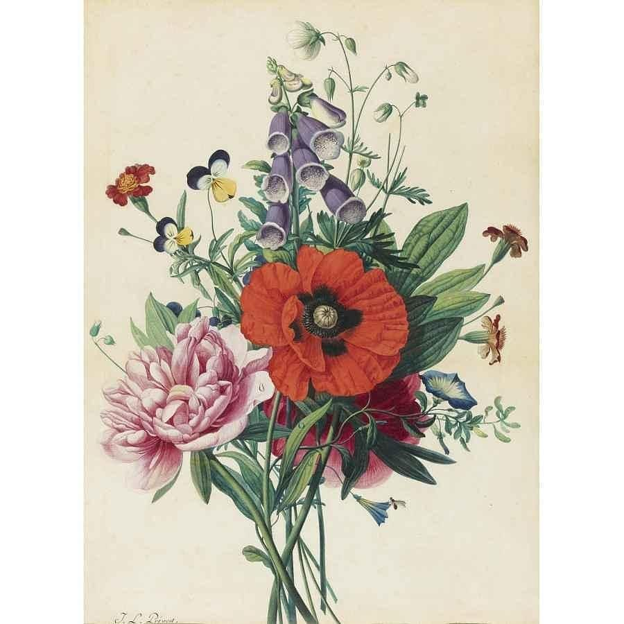 A bouquet of flowers painting by motionage designs flowers painting a bouquet of flowers by motionage designs izmirmasajfo