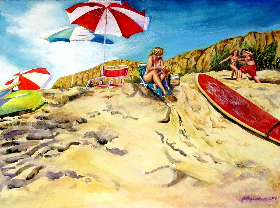 A Good Day Painting by Kathy Dueker
