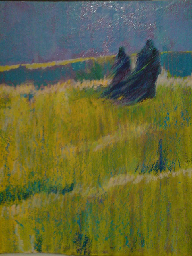 A Lone Painting by Yaghoob Moshfeghifar