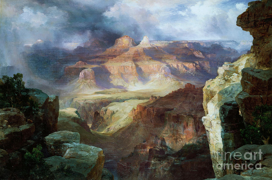 Thomas Moran Painting - A Miracle Of Nature by Thomas Moran