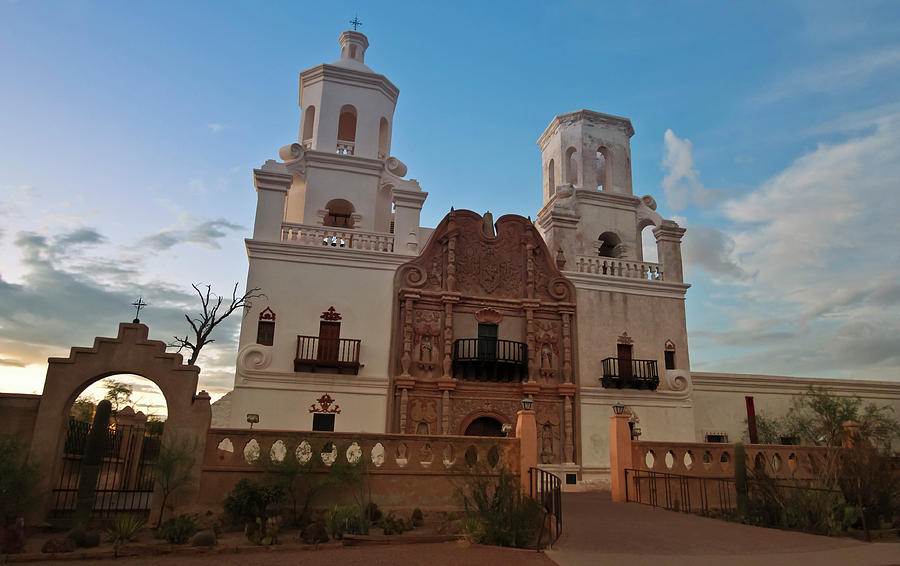 Mission Photograph - A Mission San Xavier Del Bac, Tucson by Derrick Neill