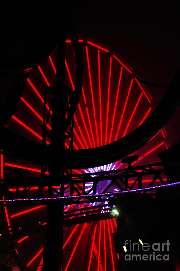 Clay Photograph - A Night At Santa Monica Pier by Clayton Bruster