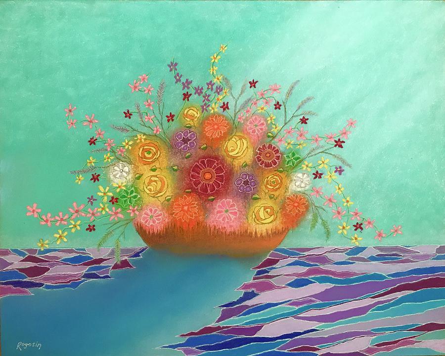 A Vase of Flowers IV by Harvey Rogosin