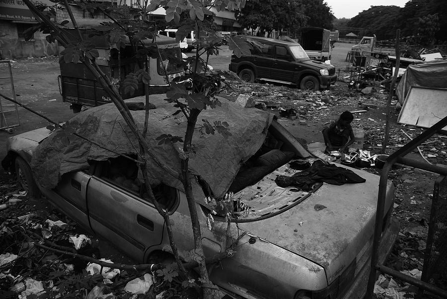 Abandon Vehicle Photograph by Jang bahadur Rana