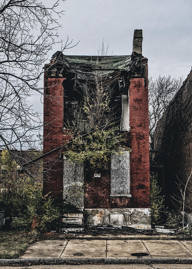 Abandoned House In Old North Saint Louis City Photograph ...