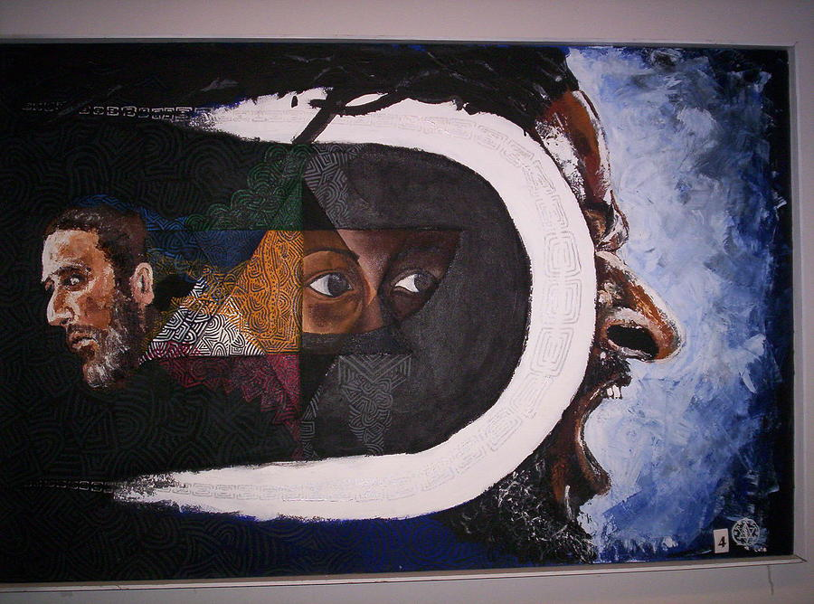 Abrahams Seed Painting by Yaqub Tate
