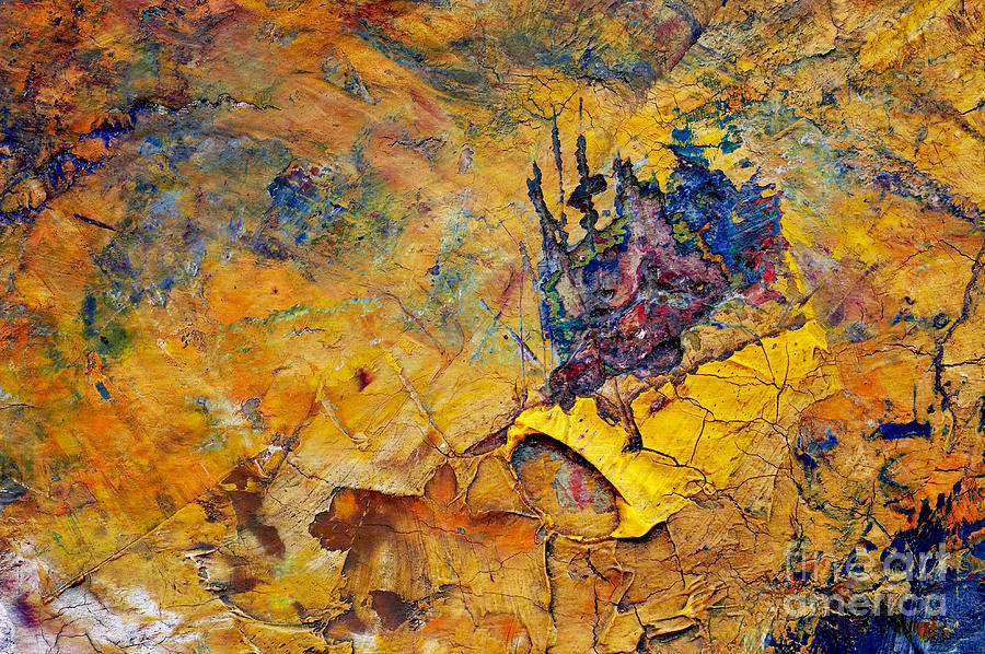Craftsmanship Painting - Abstract Composition by Michal Boubin