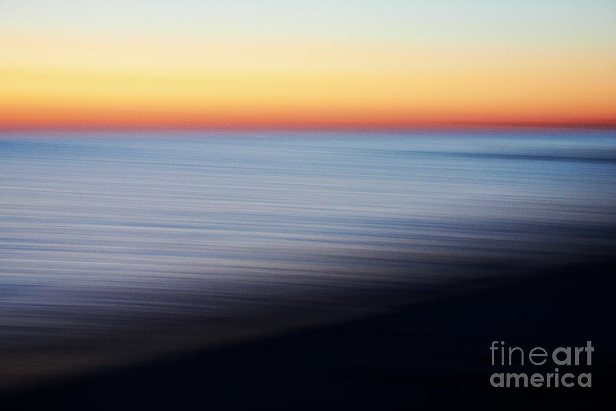 Abstract Sky and water by Tony Cordoza