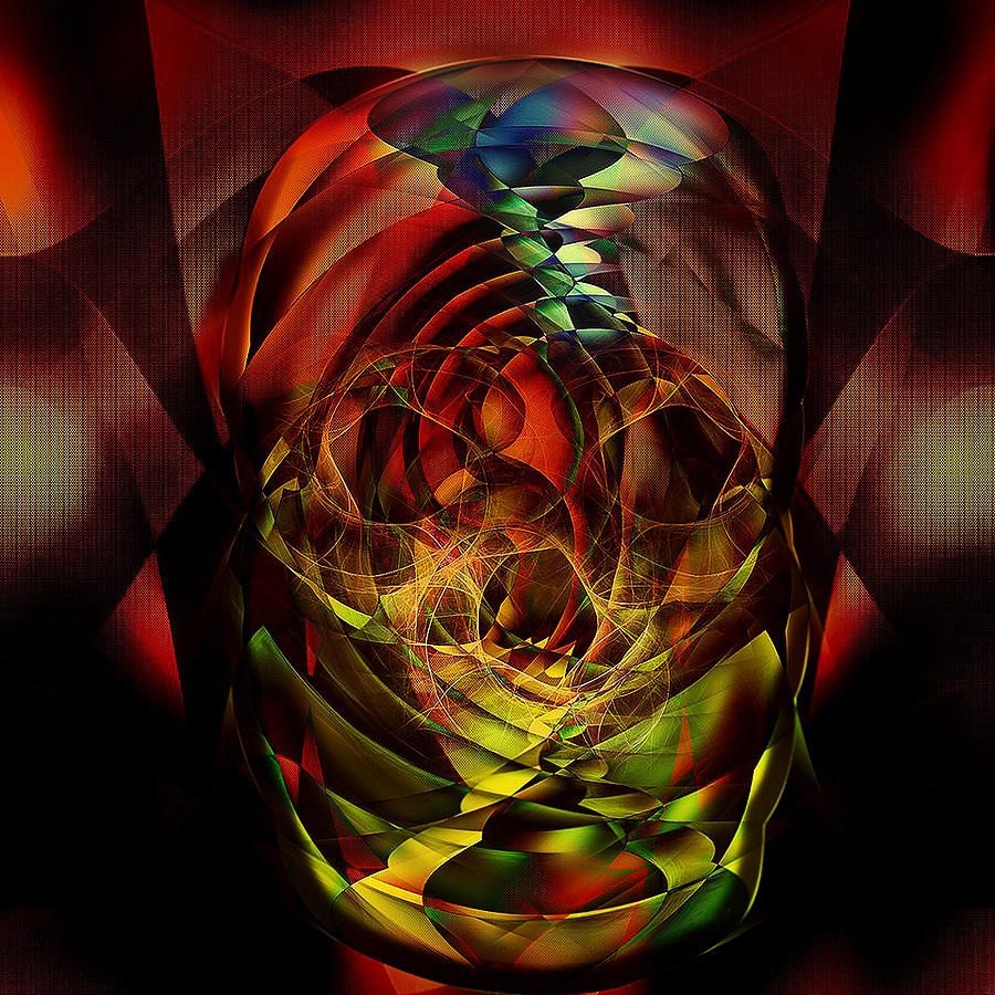 Digital Digital Art - Abstract Thoughts by Andy Young